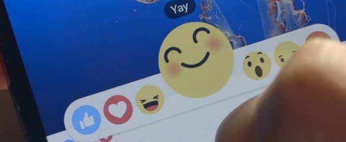 Facebook va changer le bouton J'aime en une rangée d'émoticônes